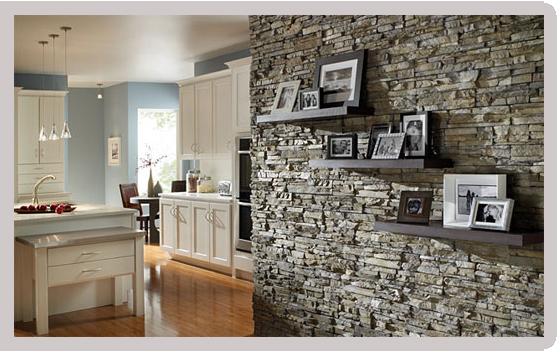 Камни в декоре интерьера